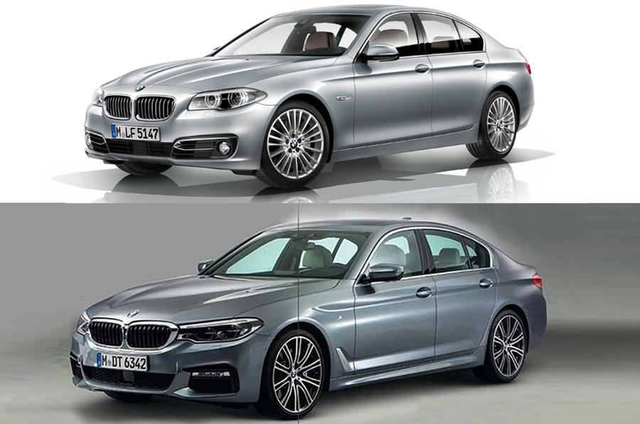 2017 BMW 5 Series compared to outgoing BMW 5 Series