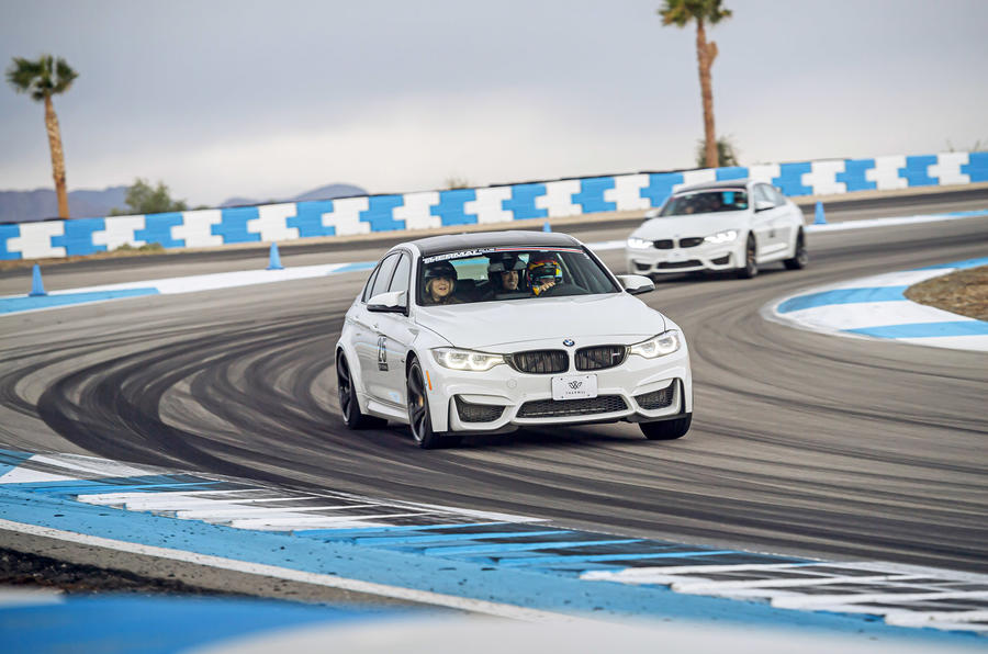 Thermal Raceway 2020 - BMWs tracking front