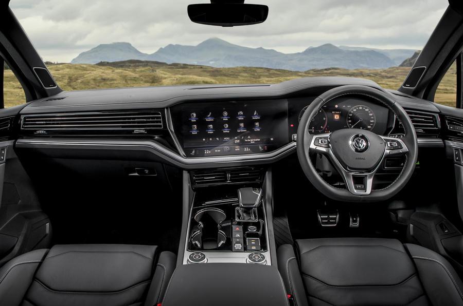 VW Touareg édition noire