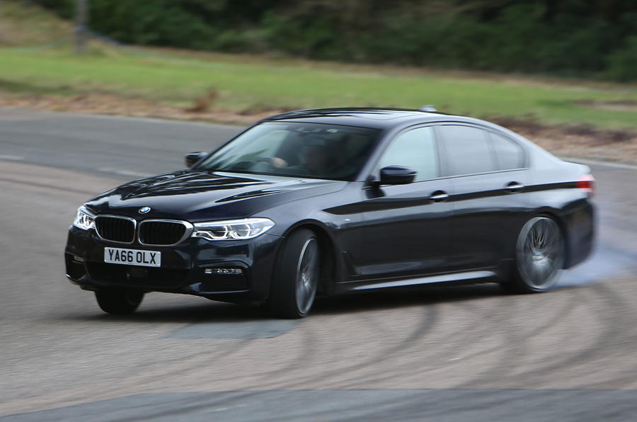 The new BMW 5 Series, launched a few months ago and in the UK for the first time, is really good.