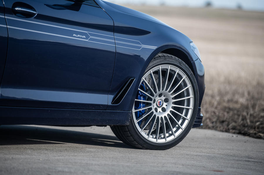Alpina B5 Touring 2018 UK first drive review - alloy wheels