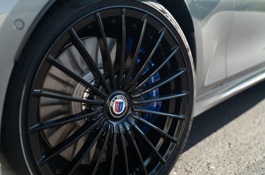 Alpina D3 S Touring 2020 first drive review - alloy wheels