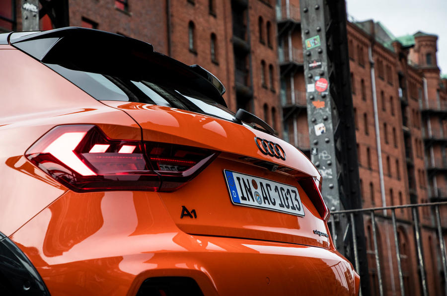 Audi A1 Citycarver 2019 first drive review - rear lights