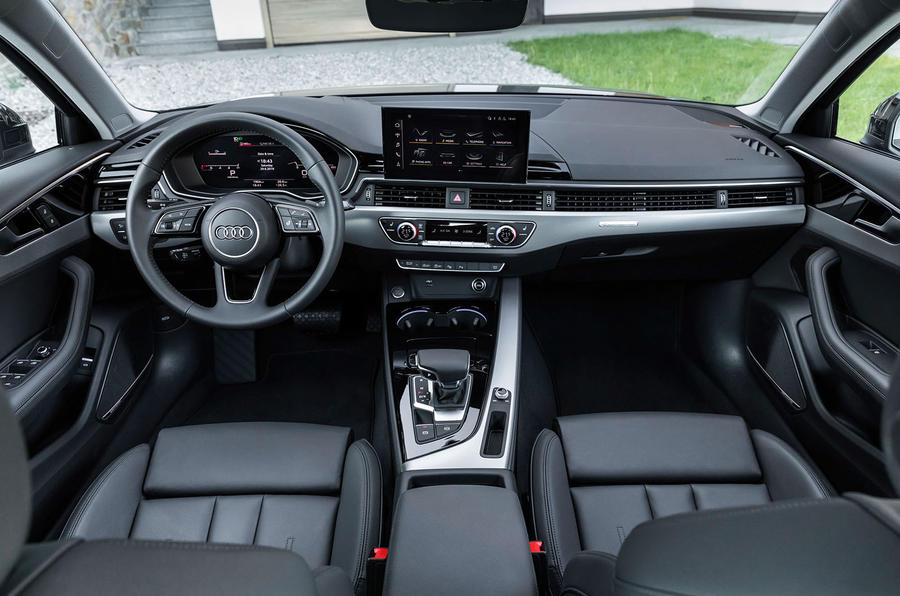 Audi A4 2019 first drive review - cabin