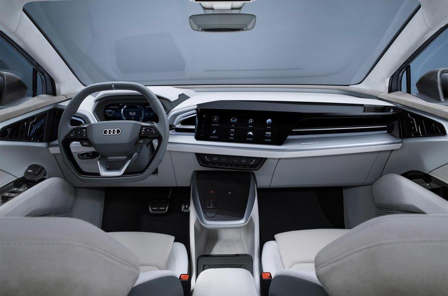 audi q4 sportback e tron is maker s seventh ev by 2021 autocar audi q4 sportback e tron is maker s