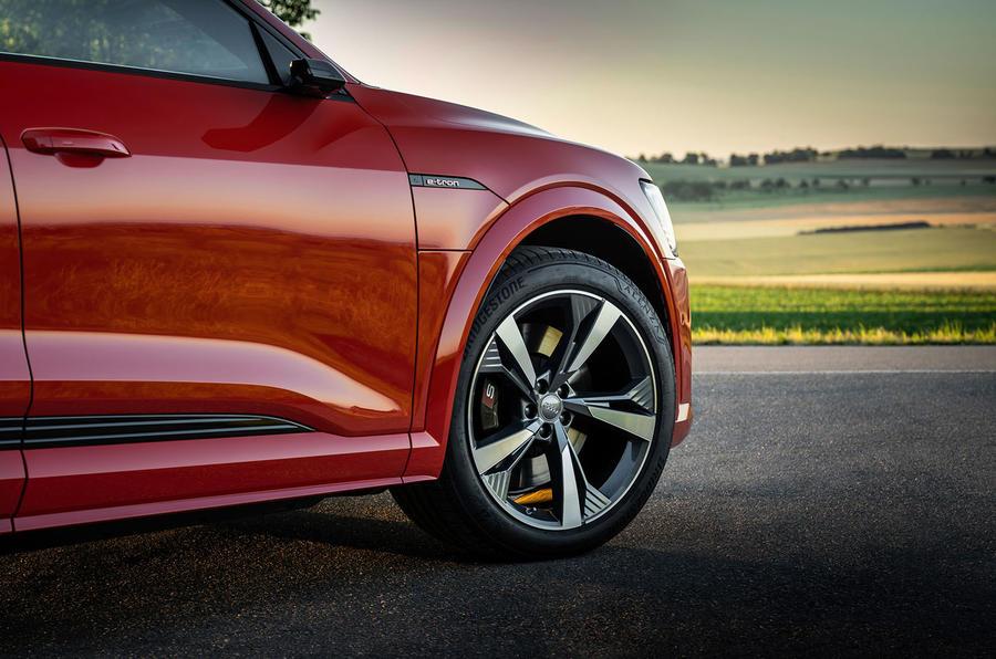 Audi E-tron S Sportback 2020 first drive review - alloy wheels