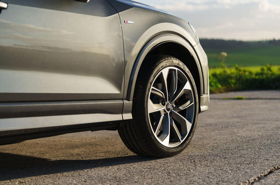 Audi Q2 35 TFSI Sport 2020 UK first drive review - alloy wheels