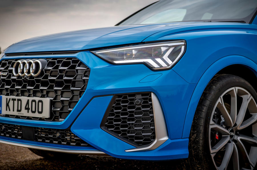 Audi RS Q3 Sportback 2019 UK first drive review - front bumper