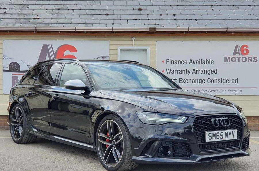 Audi RS6 Avant - static front