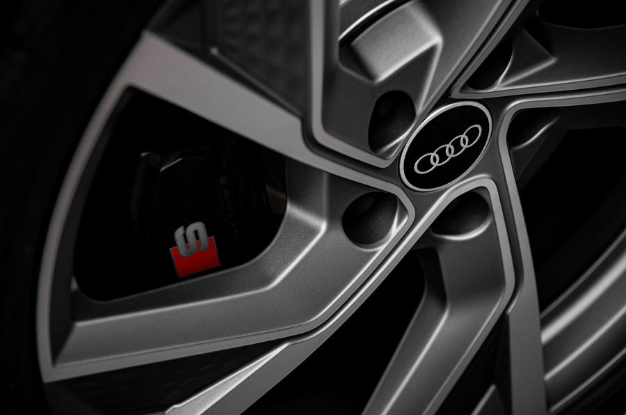 Audi S3 Sportback 2020 first drive review - brake calipers