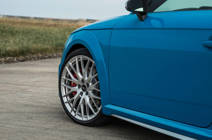 Audi TTS 2018 first drive review alloy wheels