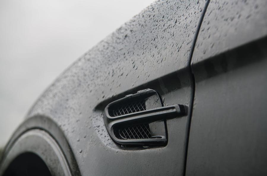 Bentley Bentayga Speed 2019 UK first drive review - front air intake