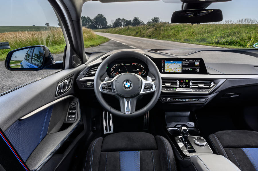 BMW 1 Series M135i 2019 first drive review - dashboard