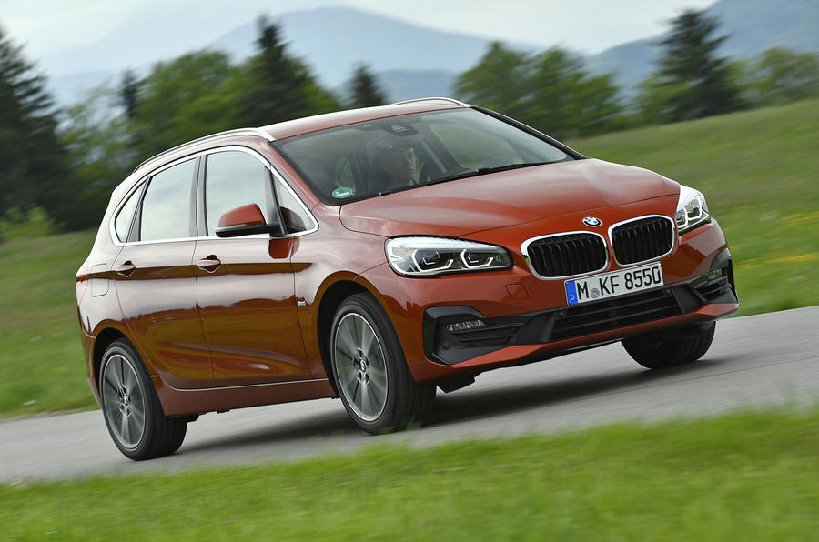 BMW 2 Series Active Tourer 2018 review on the road front