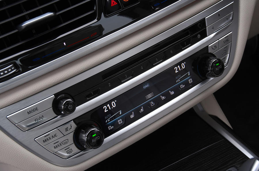 BMW 7 Series 740Ld long-term review climate control
