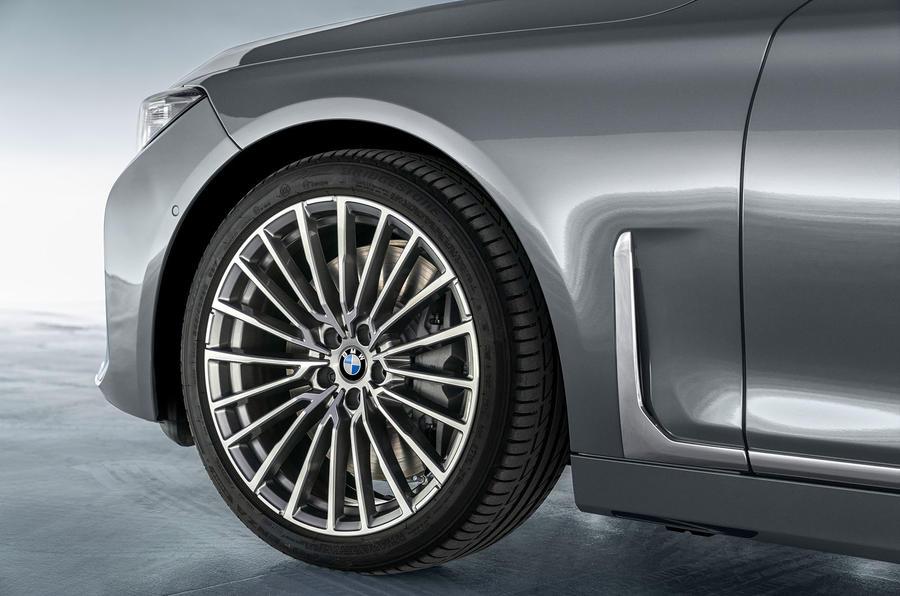 BMW 7 Series 750Li 2019 first drive review - alloy wheels