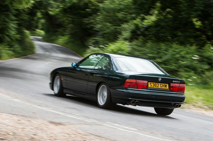 BMW 8 Series - hero rear