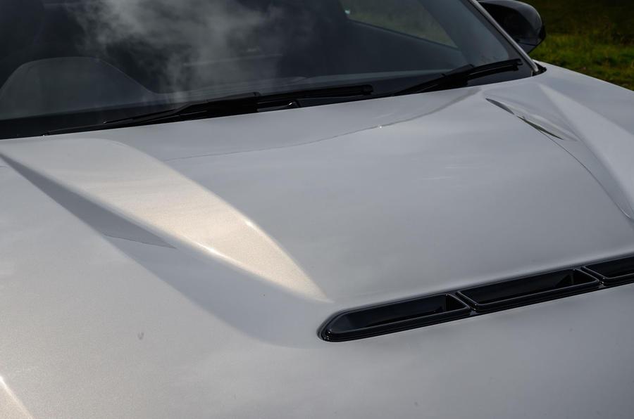 BMW M2 CS 2020 UK first drive review - bonnet