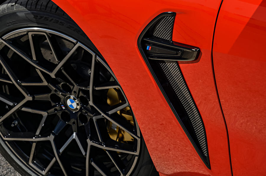 BMW M8 Competition Coupé 2019 first drive review - alloy wheels