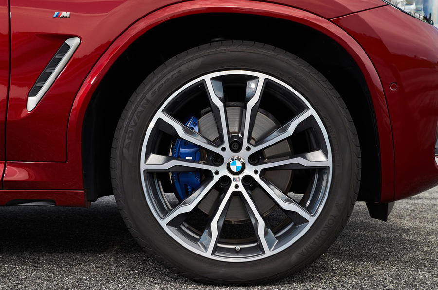 BMW X4 2018 first drive review alloy wheels