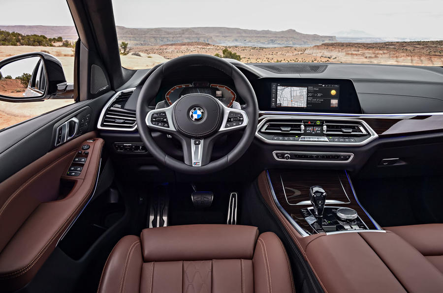 BMW X5 2019 first drive review dashboard