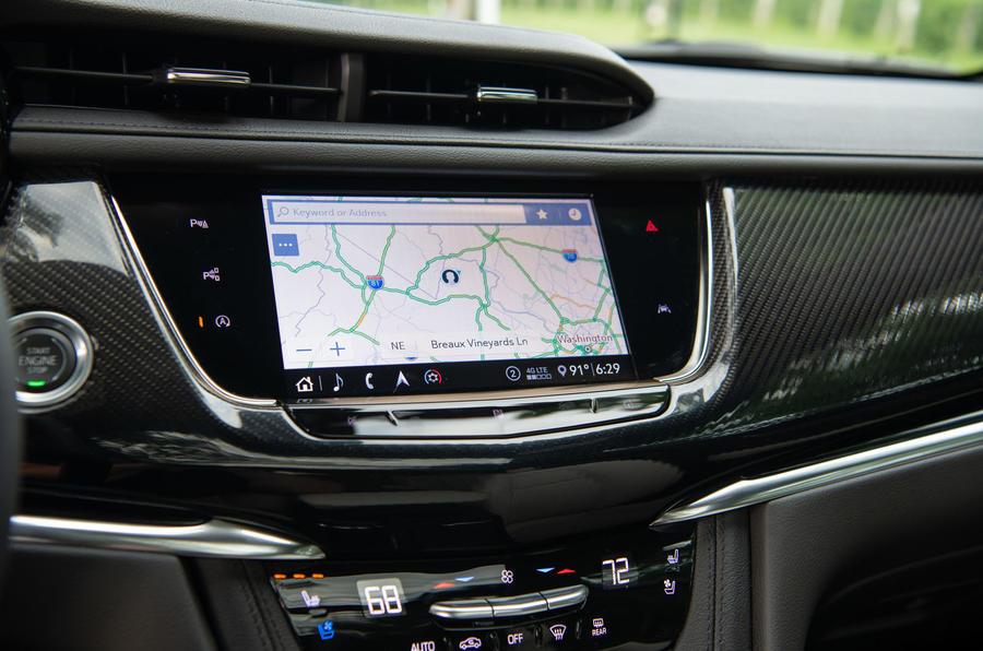 Cadillac XT6 Sport 2020 first drive review - infotainment
