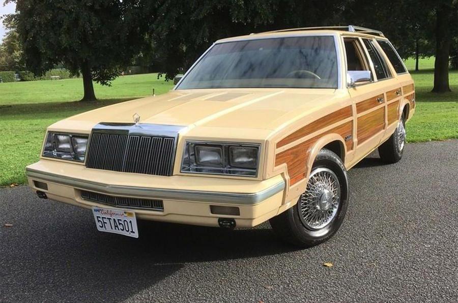 Chrysler LeBaron - static front