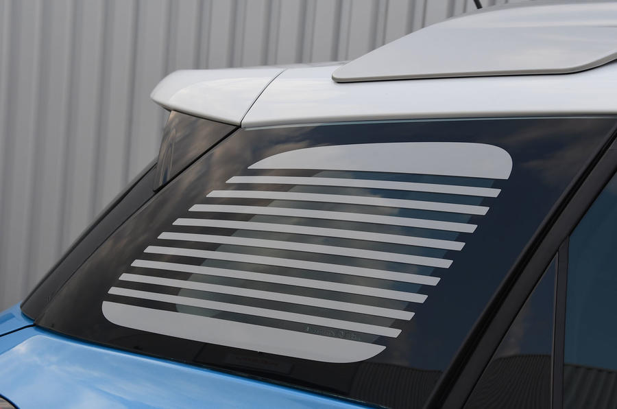 Citroen C3 Aircross Flair Puretech 130 long-term review - rear windows