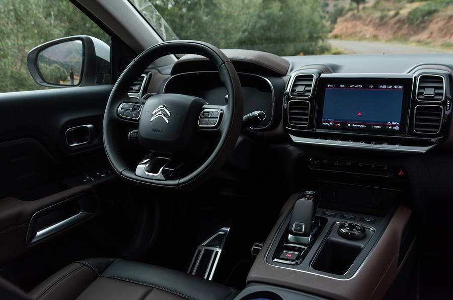 Citroen C5 Aircross 2018 first drive review - dashboard