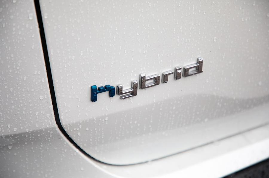 Citroen C5 Aircross Hybrid 2020 UK first drive review - rear decal
