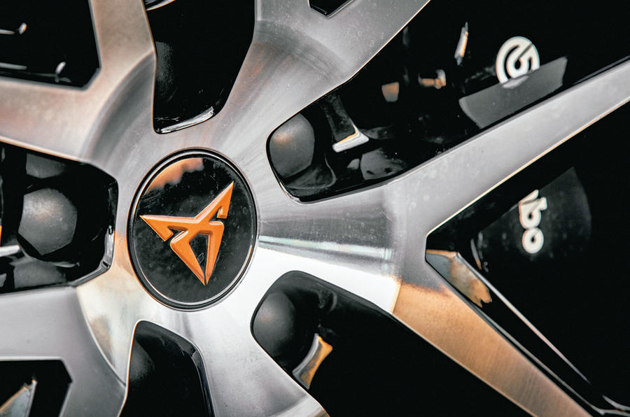 Cupra Ateca 2018 first drive review - alloy wheels detail
