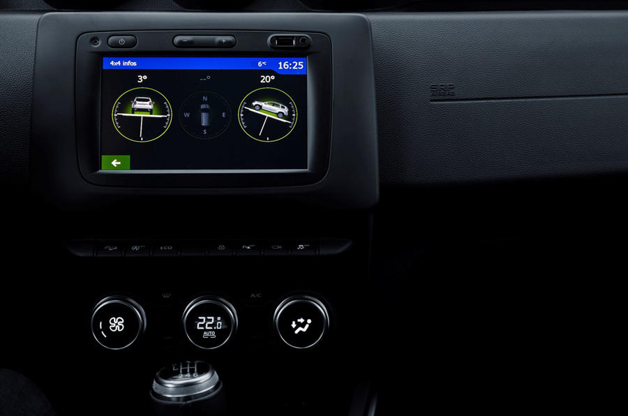 Dacia Duster 2018 first drive review infotainment