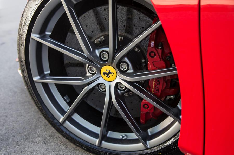 Ferrari 488 Pista 2018 review alloy wheels