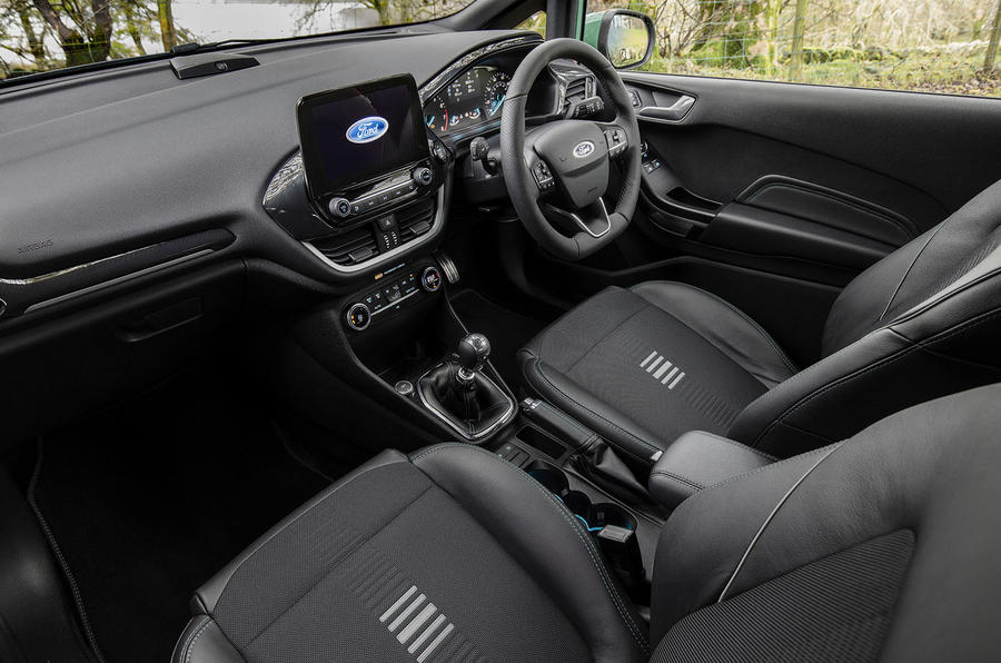 Ford Fiesta EcoBoost mHEV 2020 : premier bilan de conduite au Royaume-Uni - cabine