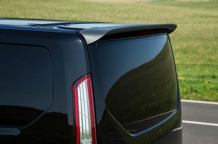 Ford Transit MS-RT custom review spoiler