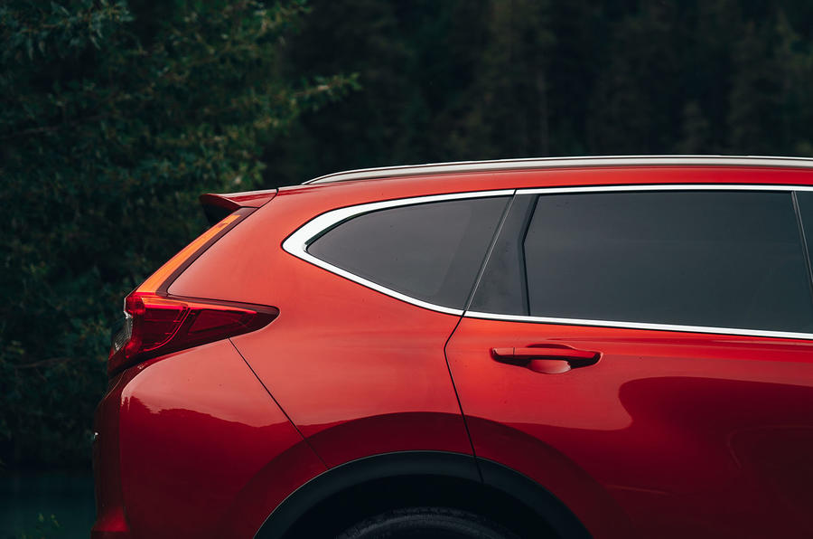 Honda CR-V 2018 first drive review rear window