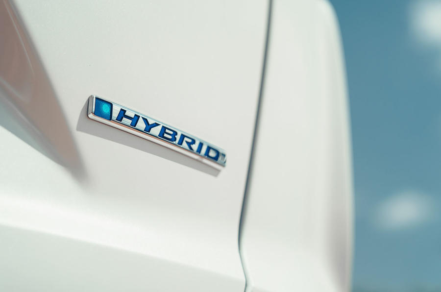 Honda CR-V hybrid 2019 first drive review - boot badge