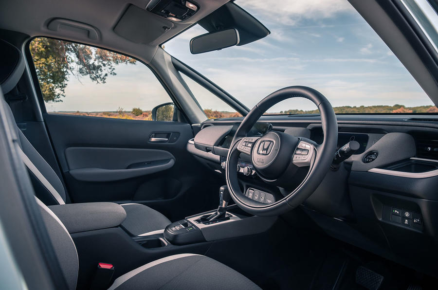 Honda Jazz Crosstar 2020 UK first drive review - cabin