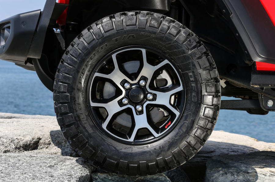 Jeep Wrangler Rubicon 2dr 2018 first drive review alloys