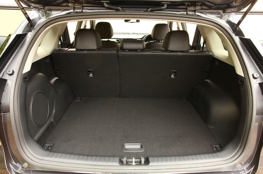 Kia e-Niro 2020 Uk first drive review - boot