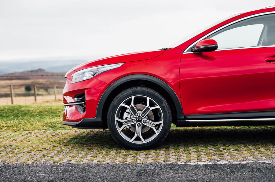 Kia Xceed 2020 UK first drive review - alloy wheels