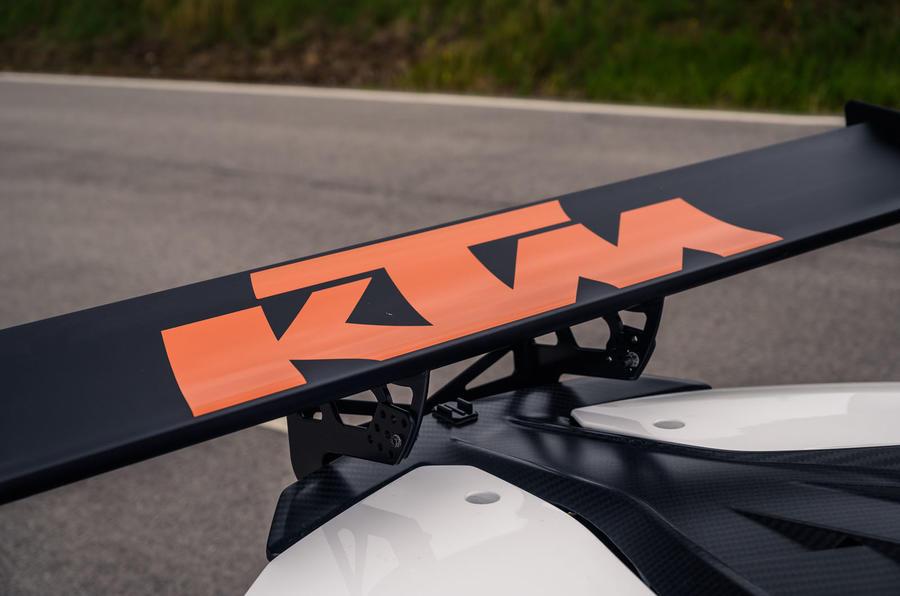 KTM Xbow Darkside developments demonstrator - wing