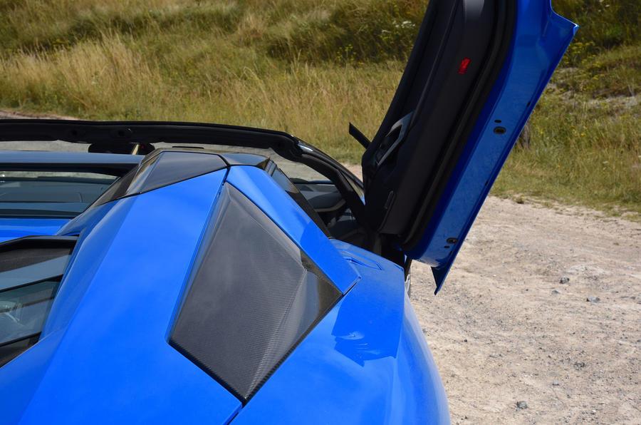 Lamborghini Aventador S 2018 first drive review doors