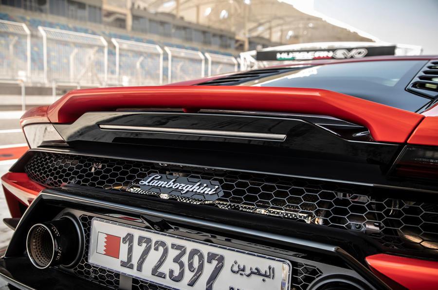 Lamborghini Huracan Evo 2019 first drive review - spoiler