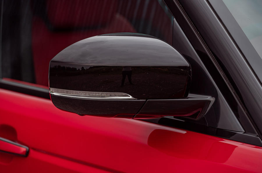 Land Rover Range Rover Sport HST 2019 UK first drive review - wing mirror