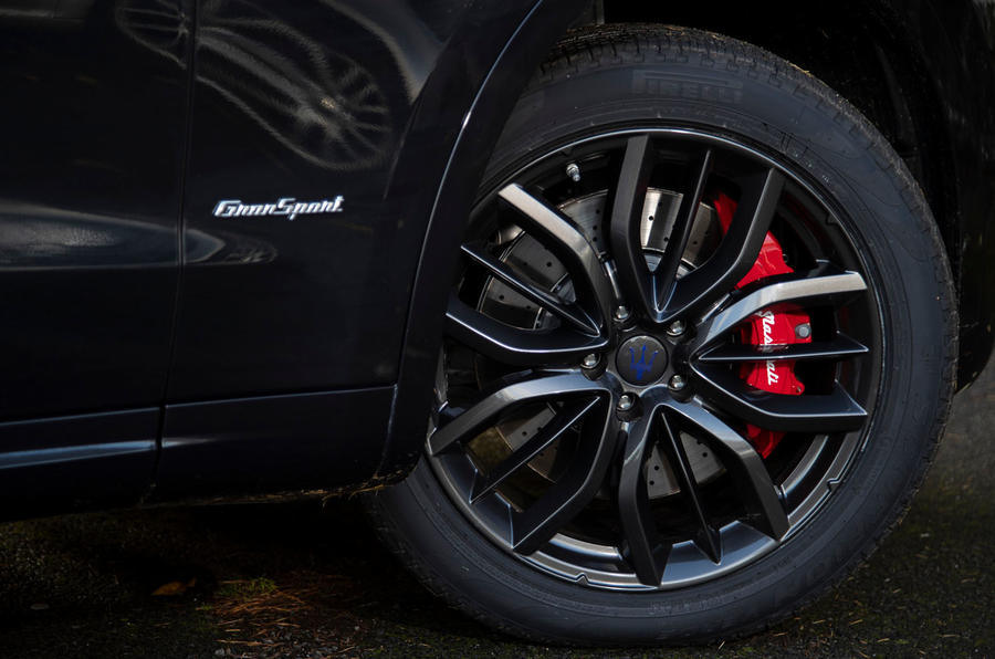 Maserati Levante GranSport V6 2018 first drive - alloy wheels