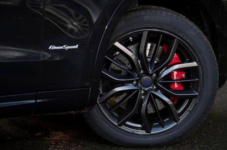 Maserati Levante GranSport V6 2018 first drive - alloy wheels