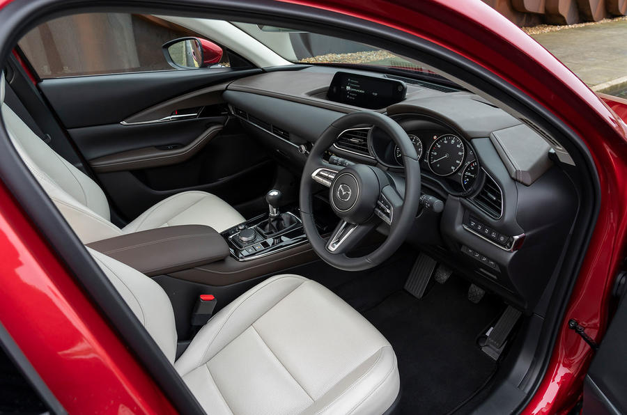 Mazda CX-30 2019 UK first drive review - cabin