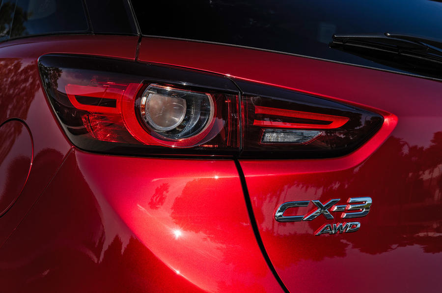 Mazda CX-3 2018 first drive review rear lights