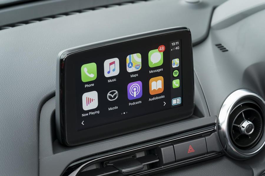Mazda MX-5 2.0 Sport Tech 2020 : premier bilan de conduite au Royaume-Uni - infotainment